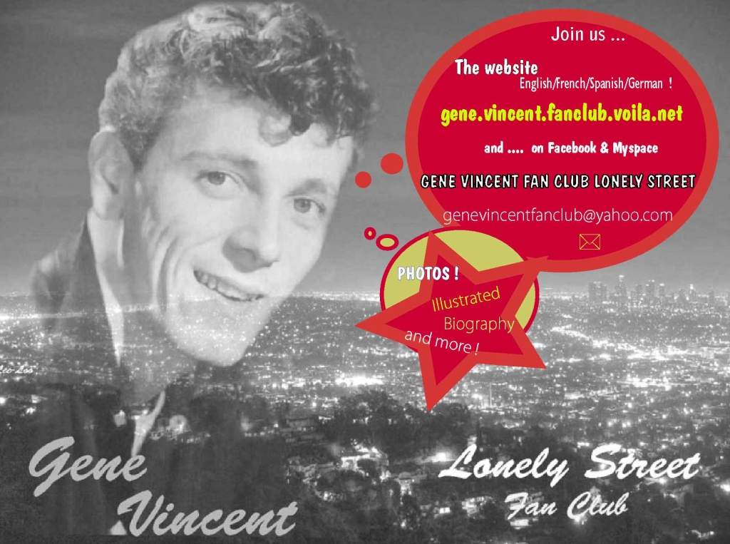 Gene Vincent Lonely Street Forum