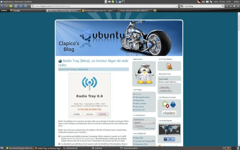 Xubuntu 11.10 + Firefox compact