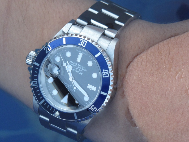 My photo blogRolex Submariner Green On Wrist