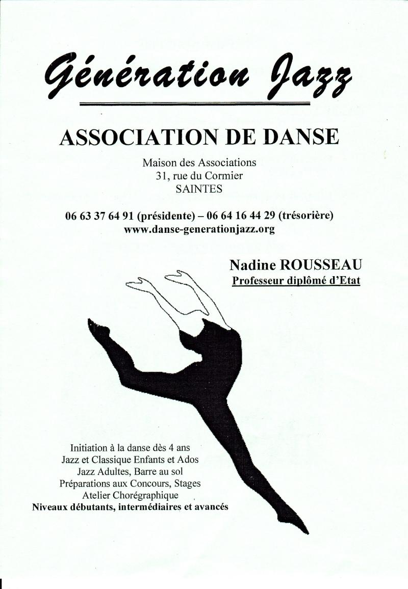 Danse classique et Jazz : association de Saintes
