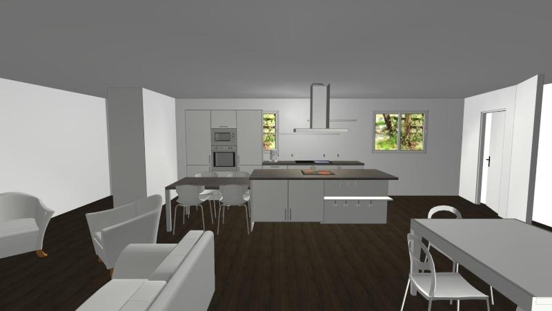 Notre maison neuve id e d co salon salle manger for Interieur de maison neuve