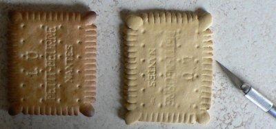 biscuit vous avez un message