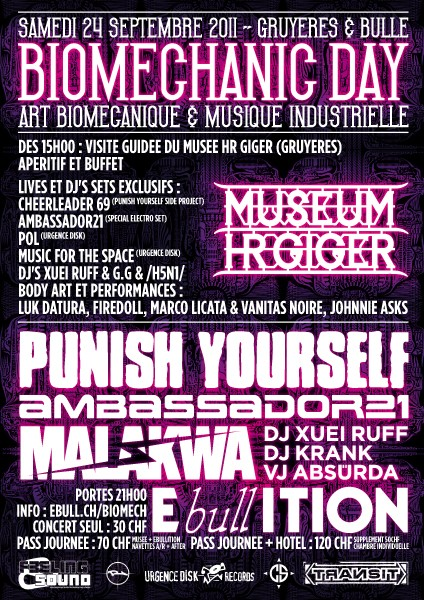 Punish Yourself @ Bulle
