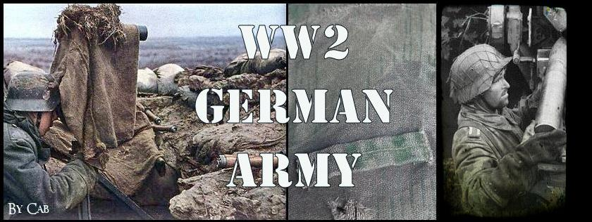WW2 German Army reenactment