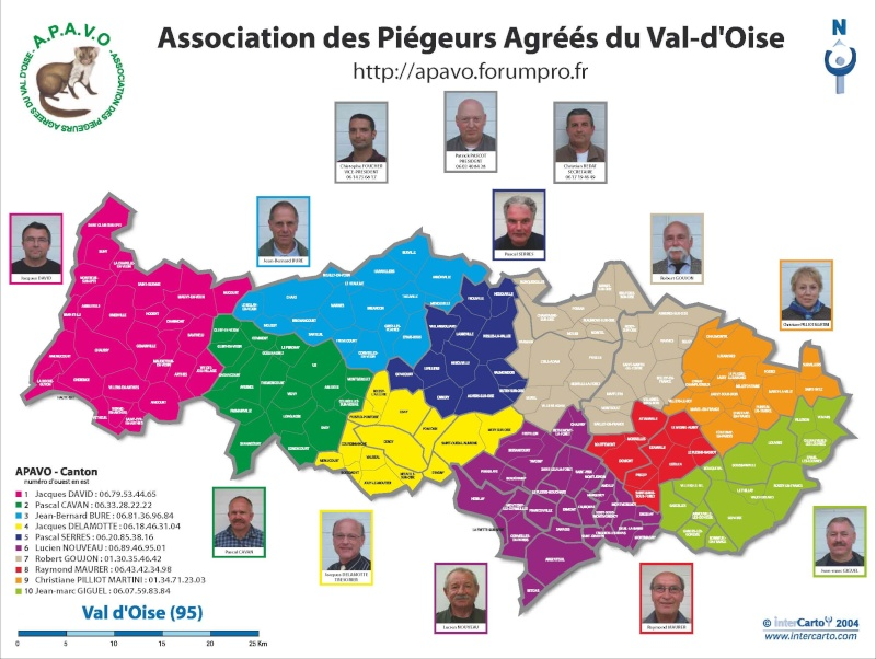 ASSOCIATION DES PIEGEURS AGREE DU VAL D OISE
