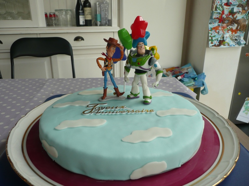 Deco gateau peter pan