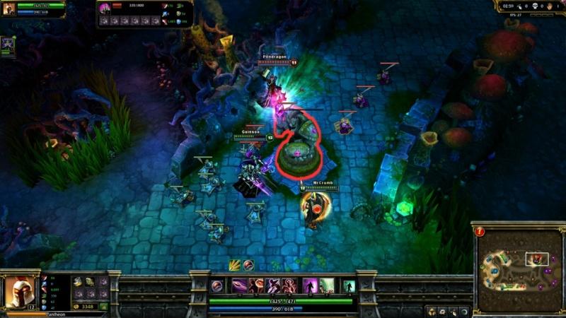 لعبة الأبطال الأسطورية League of Legends