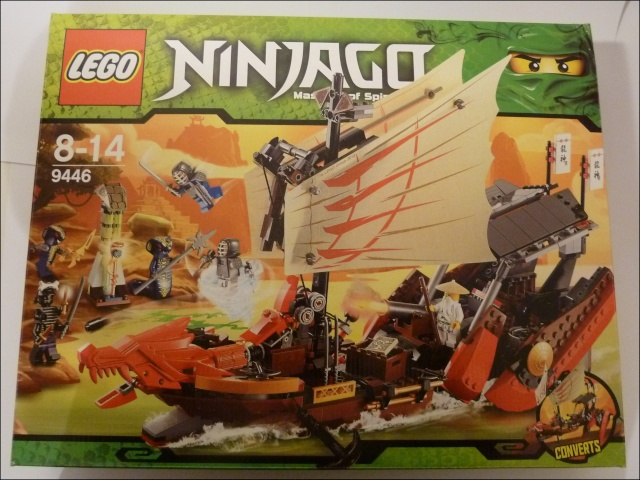 afficher le sujet review ninjago 9446 destiny 39 s bounty. Black Bedroom Furniture Sets. Home Design Ideas