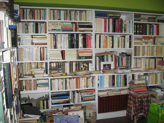 Relooking de mon salon - Construire une bibliotheque ...