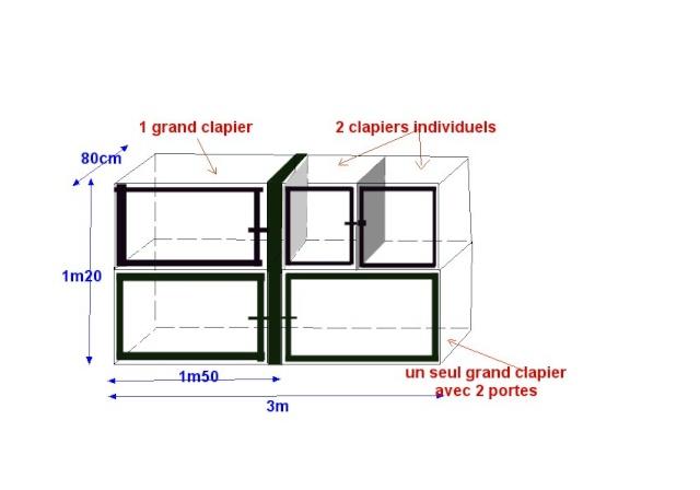 besoin d 39 aide pour construction clapiers. Black Bedroom Furniture Sets. Home Design Ideas