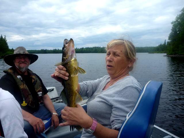 Deux véritables spécialistes du doré au Quebec