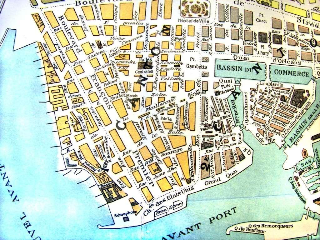 plan cule Le Havre