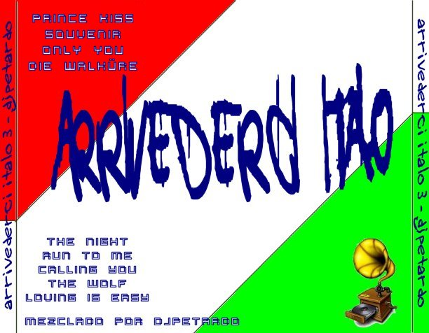 Arrivederci Italo Mix Vol.3