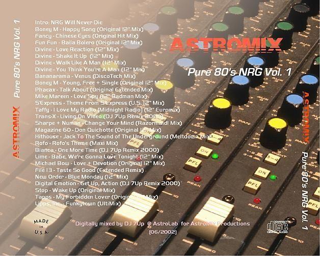 AstroMix Pure 80s NRG Vol.01