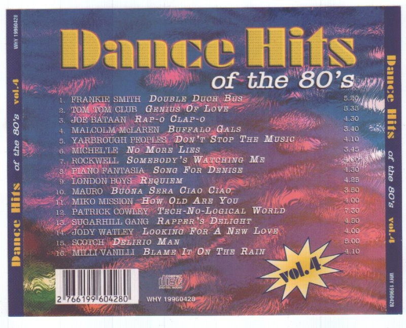 Dance Hits Of The 80's Vol.04