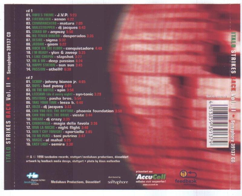 Italo Strikes Back Vol.2 - Italo Vs. Dancefloor