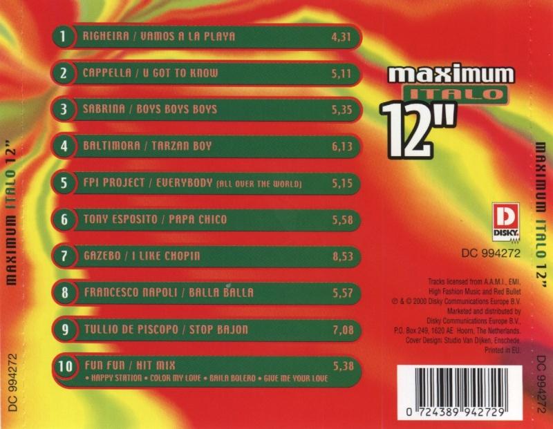 Maximum Italo 12''