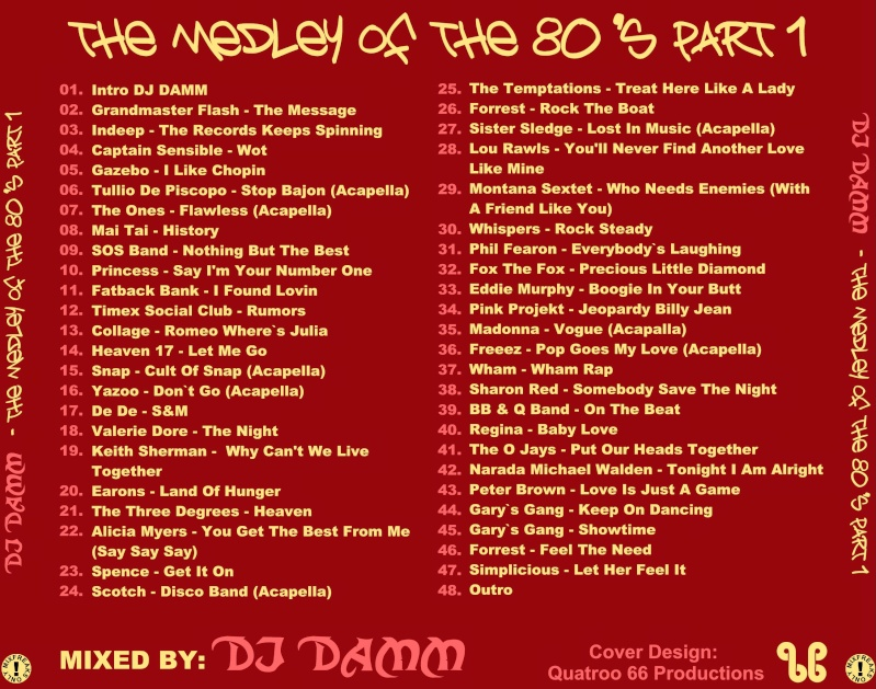DJ Damm - Medley Of The 80's