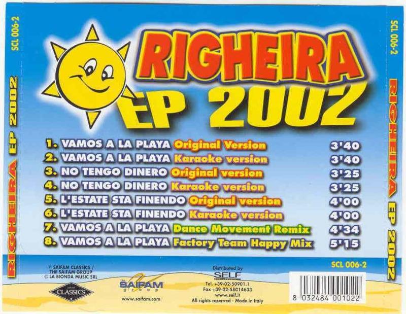 Righeira - EP 2002