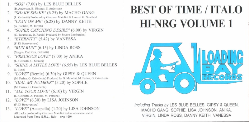 Best Of Time Italo Hi-Nrg Vol.1