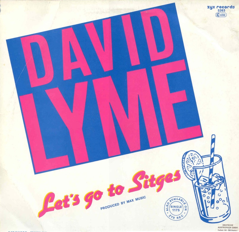 David Lyme - Let's Go To Sitges