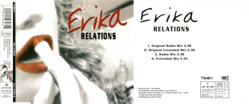 Erika - Relations