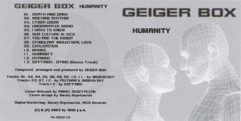 Geiger Box - Humanity