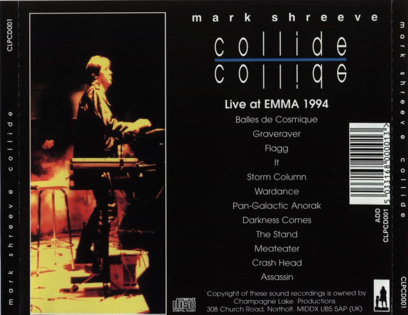Mark Shreeve - Collide - Live At Emma
