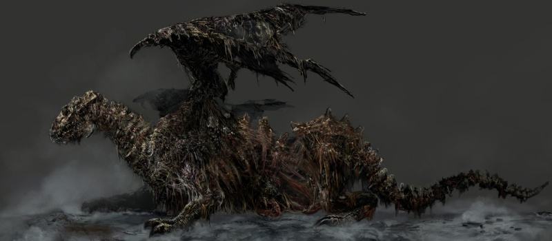 Dark Souls Dragon-Zombi