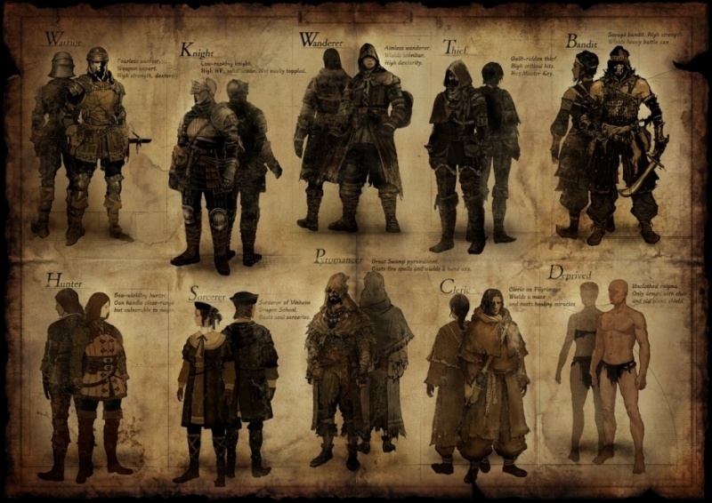 Dark Souls Classes