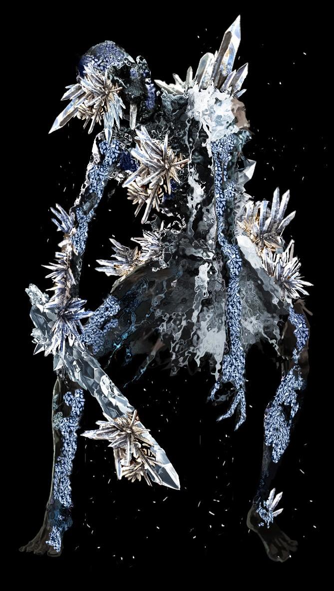 Dark Souls guerrier de cristal