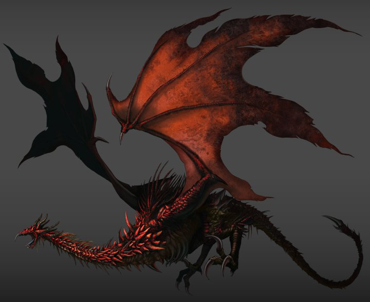 Dark Souls Dragon Carcasse