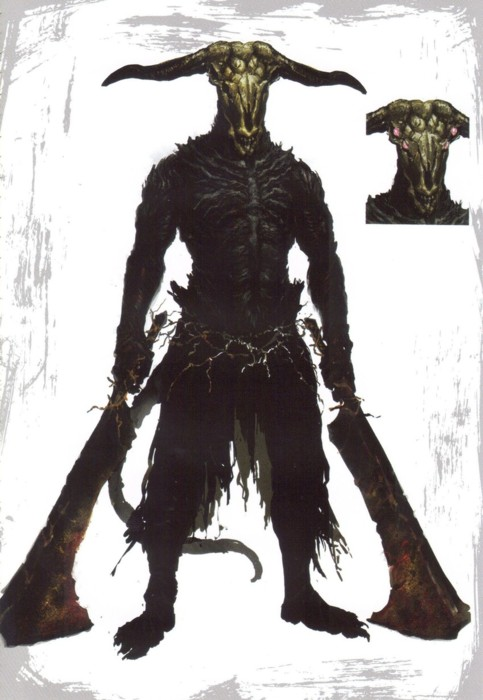 Dark Souls Démon Capra