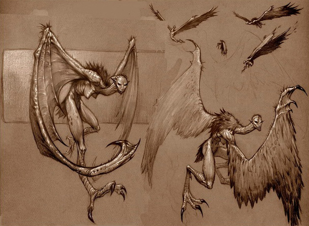 Erinyes Harpie