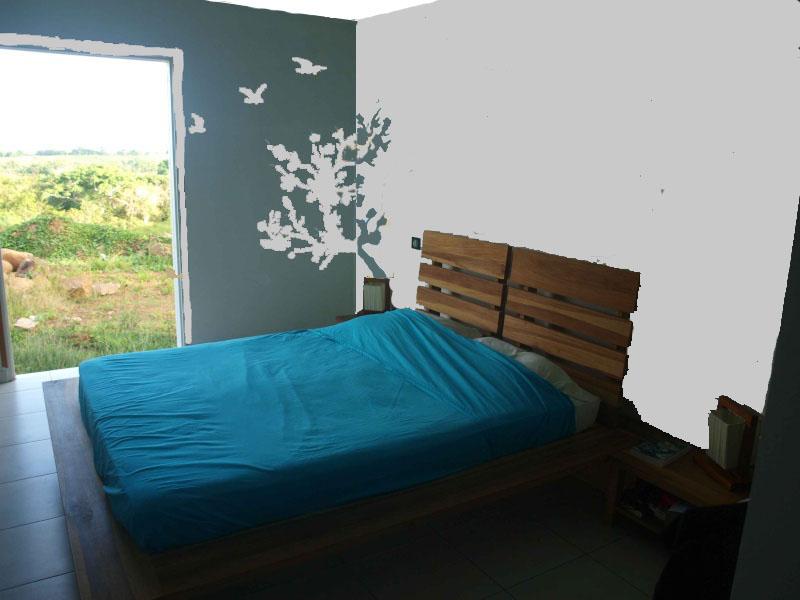Quels rideaux page 9 id e pour une chambre adulte zen - Chambre bleu adulte ...
