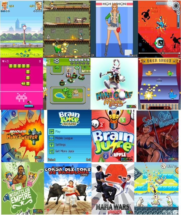 Juegos de Digital Chocolate (multi pantalla)
