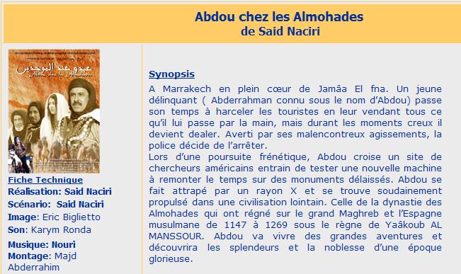 CHEZ GRATUITEMENT ALMOHADES ABDOU LES TÉLÉCHARGER