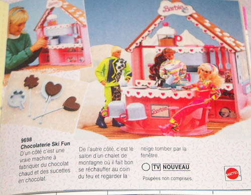 Data base barbie playline generaliste for Barbie chien piscine