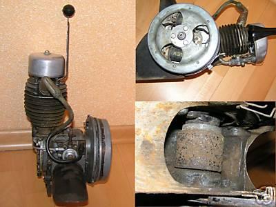 moteur de solex 660
