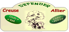 Club Defender Creuse Allier