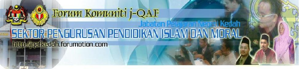 Forum Komuniti j-QAF JPN Kedah