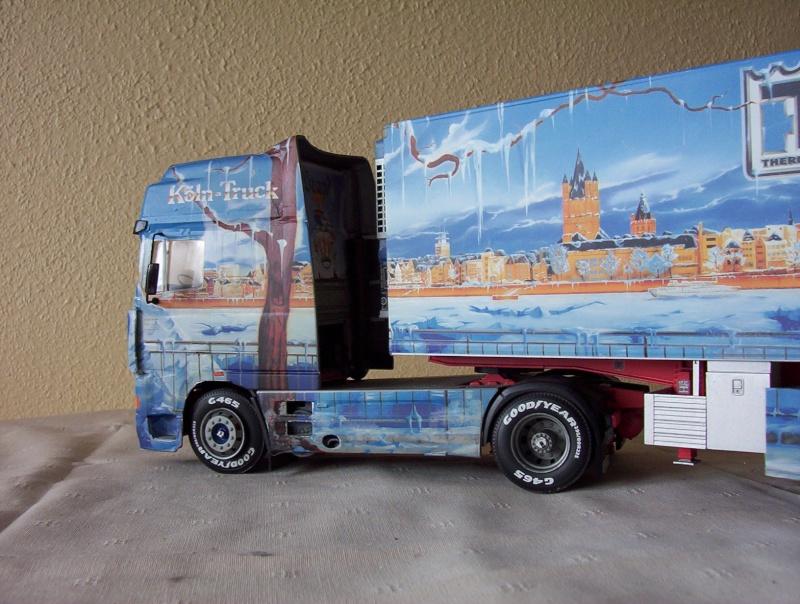 maquette 1 24 camion. Black Bedroom Furniture Sets. Home Design Ideas