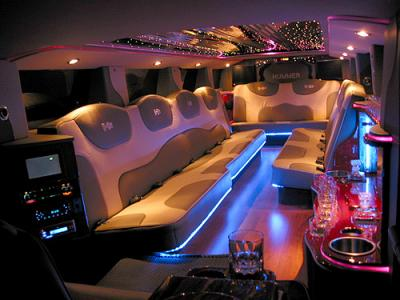 Int rieur hummer limousine for Interieur hummer