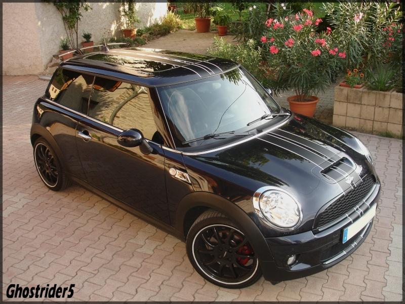 mini noire et bandes de capot page 2 forums auto de motorlegend. Black Bedroom Furniture Sets. Home Design Ideas