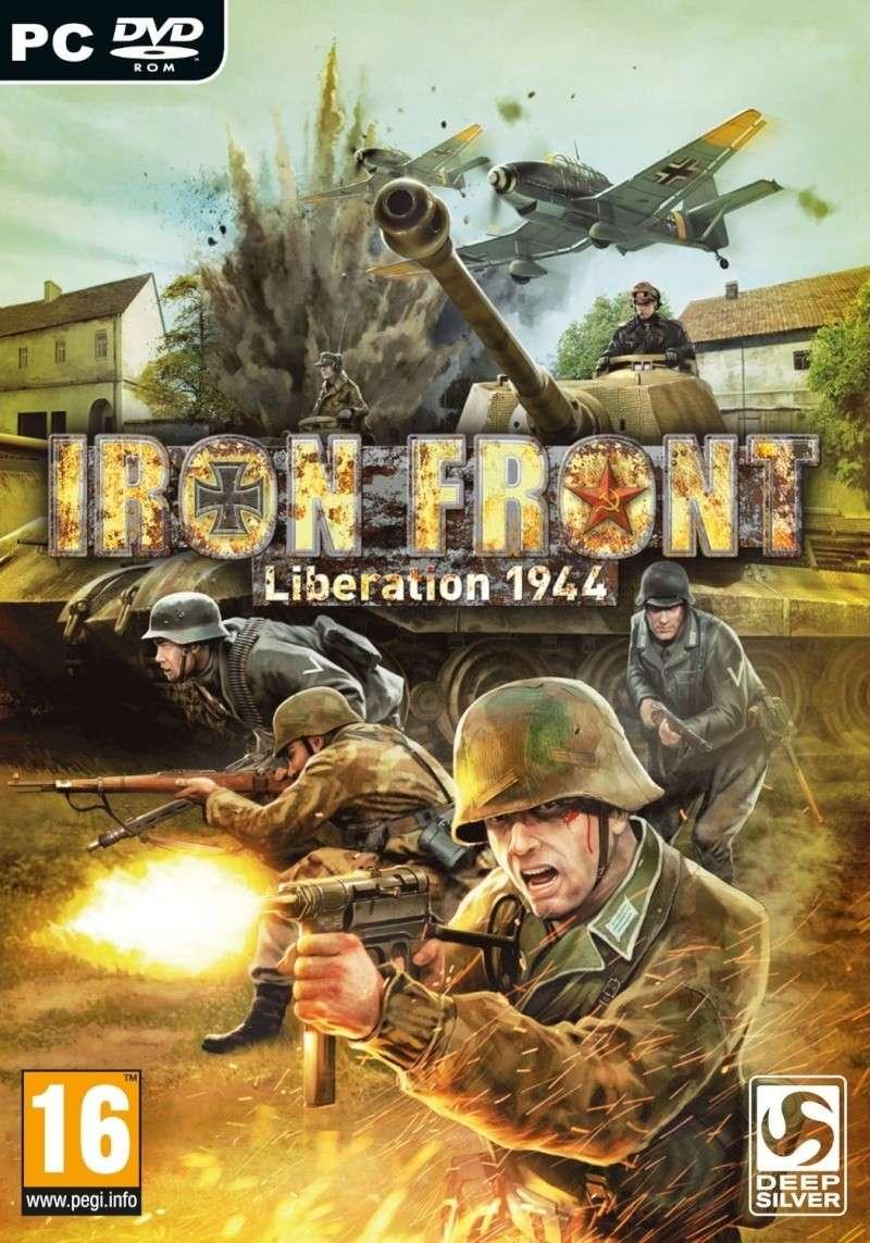 لعبه الحروب القويه بالجرافيك العالى Iron Front Liberation