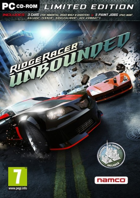 لعبة ridge racer unbouned