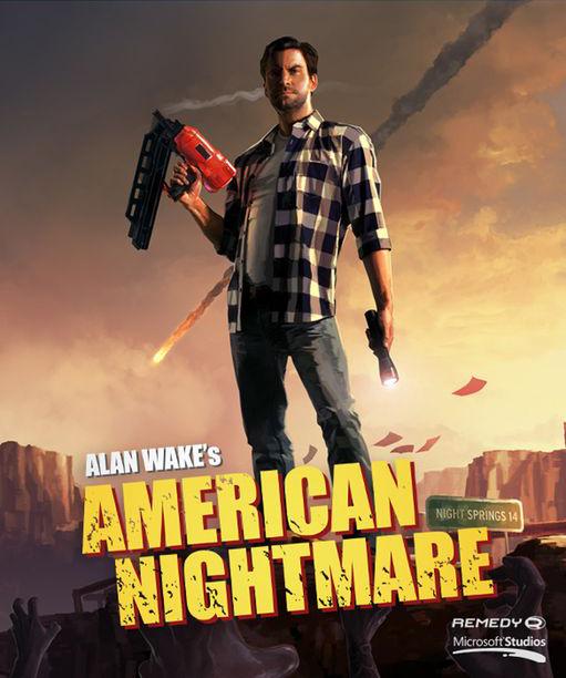 أقوى العاب القتال والاكشن Alan Wakes American Nightmare-R