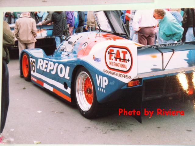 Porsche 962c 1991 Team Repsol Brun N 176 17 Maj Le 25 01 12