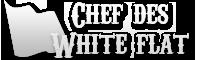 Chef des white flat