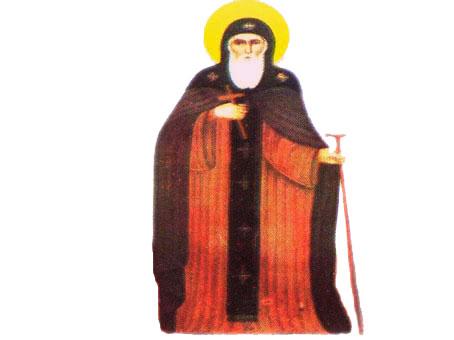نياحة القديس بلامون أب الرهبان